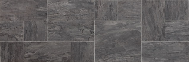 Faus Laminaat Tegels Night Slate Black 746659 Vloerenplanet