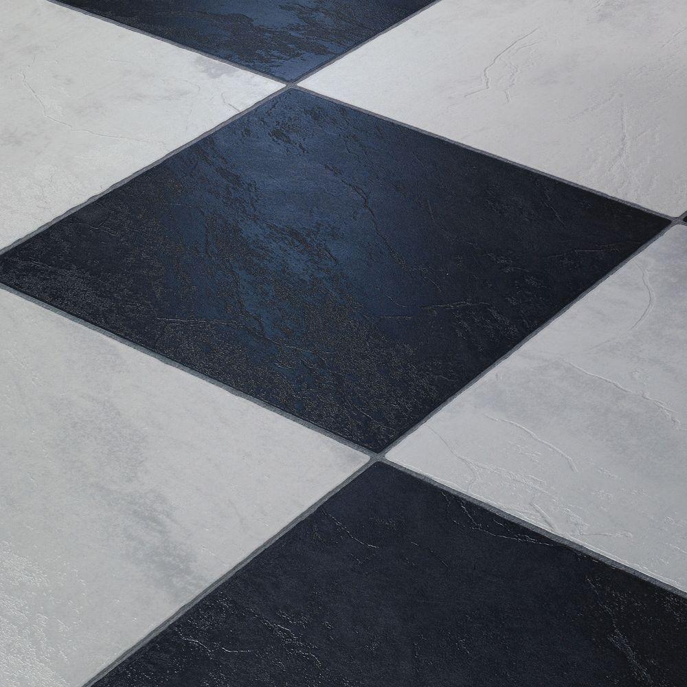 Faus Laminaat Tegels Chess Black 621989 Zwart Wit Geblokte